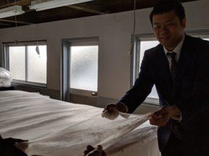 入金真綿から手引きを行う現地研修